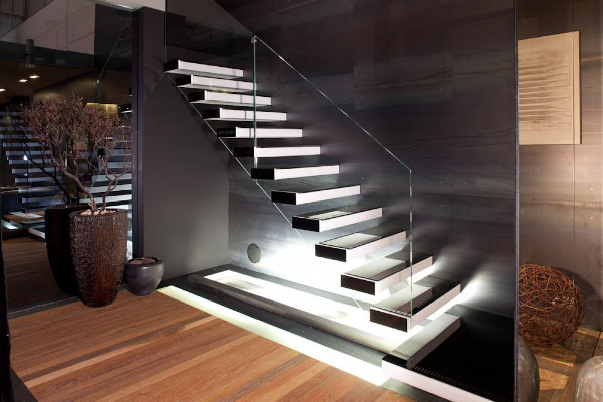 Modern Stair Case Floating Staircase Allarchitecturedesigns