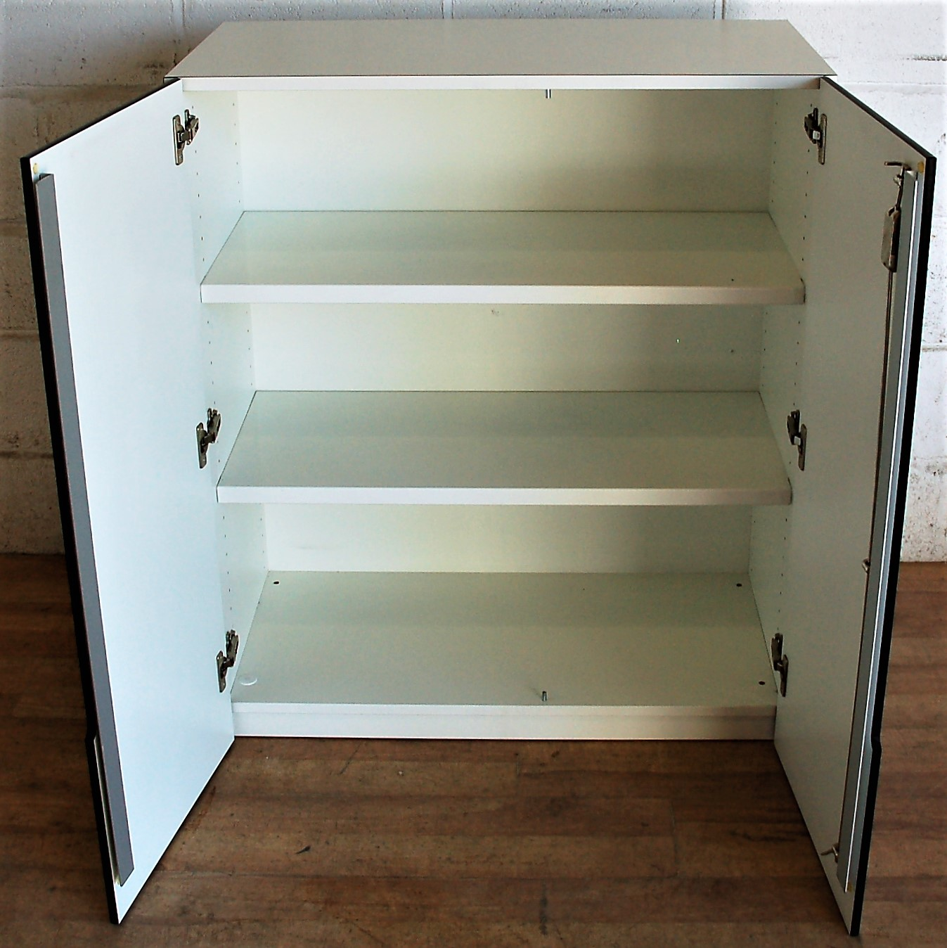 White Cupboard Cupboard Hpl Doors White 5078 Allard Office Furniture