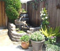 Backyard Water Feature DIY | Backyard Design Ideas