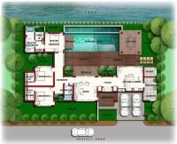 Luxury Mansion Floor Plans With Indoor Pools | Backyard ...