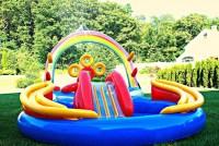 Some Info about Backyard Pool Slides   Backyard Design Ideas