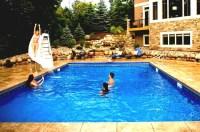 Home Water Slide For Pool | Backyard Design Ideas
