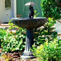 Rock Garden Fountains U0026 Ponds | Backyard Design Ideas