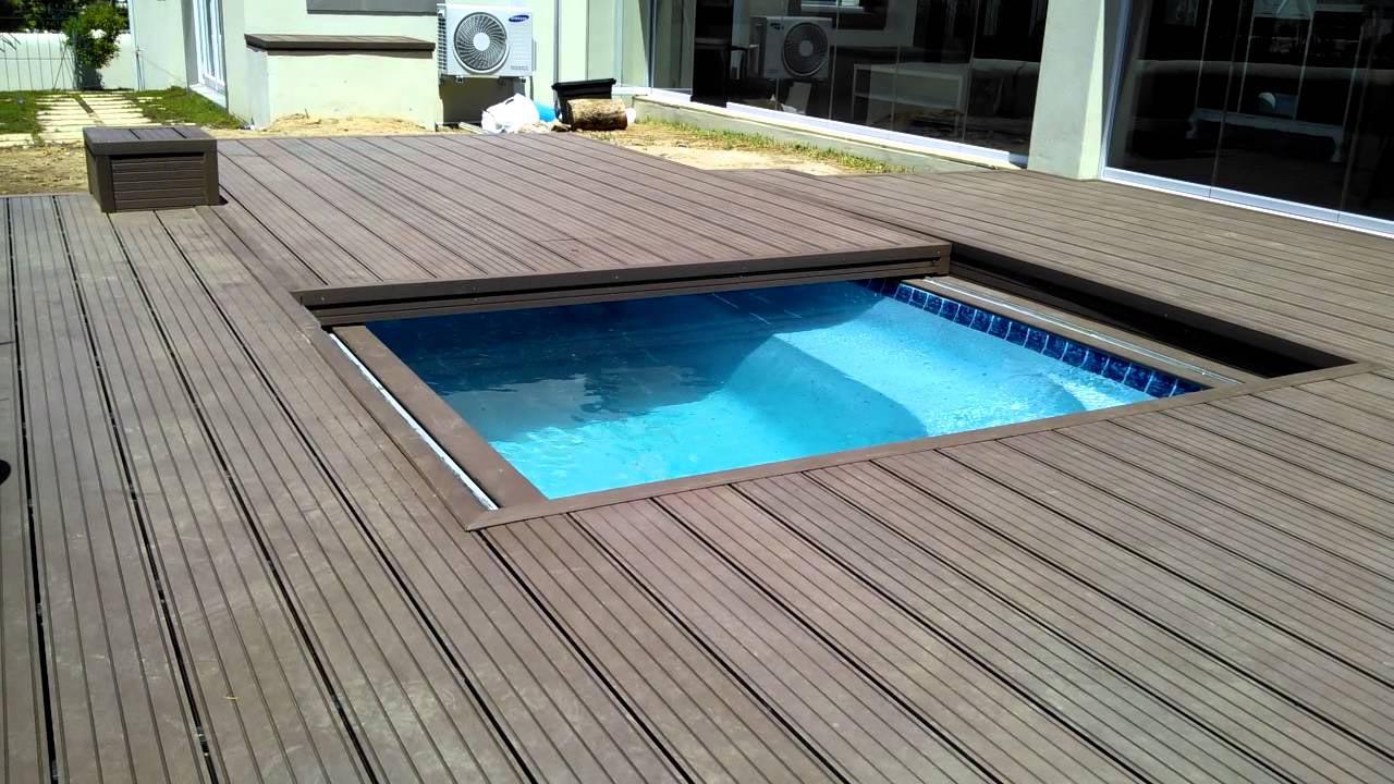 Diy Swimming Pool Cover Backyard Design Ideas