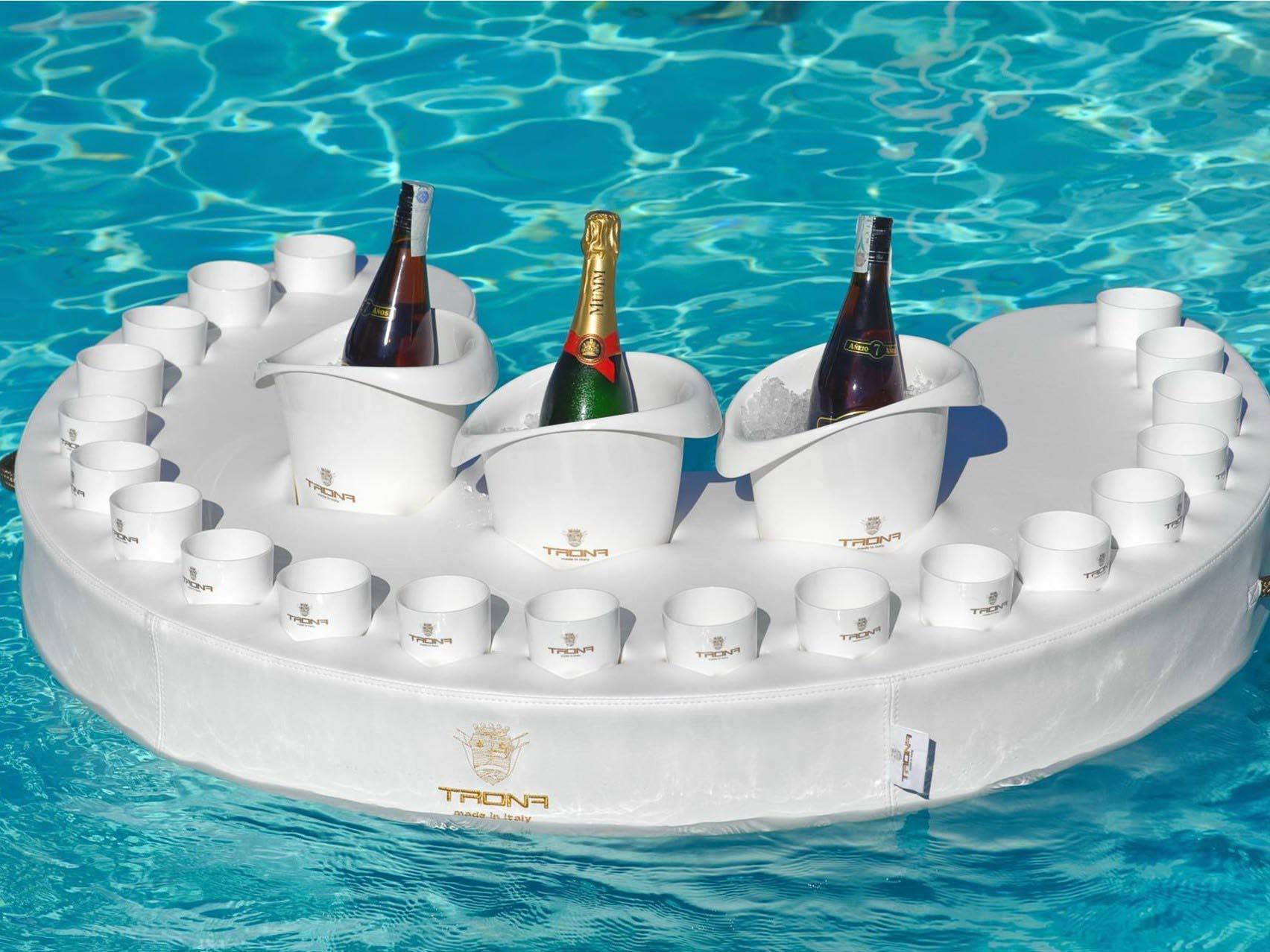 spa pool floating bar