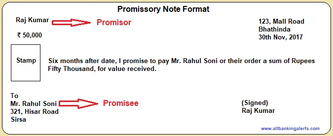 What is promissory note and its types- Is currency note a promissory - promissory notes