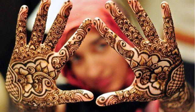 Latest bridal mehndi design all beautiful brides