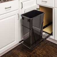 Single Trash Can Pullout 15 inch cabinet - All Cabinet Parts