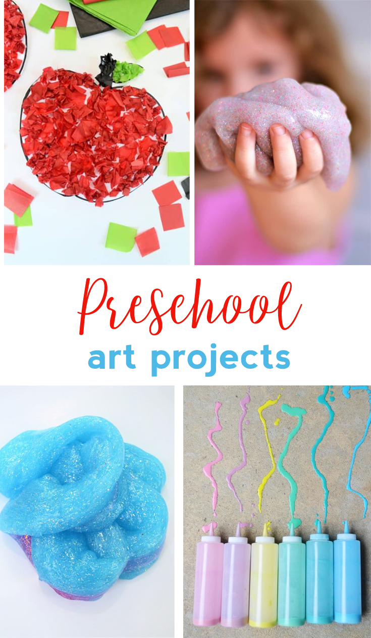 Art And Craft For Preschool Preschool Art Projects Easy Craft Ideas For Kids All Crafty Things