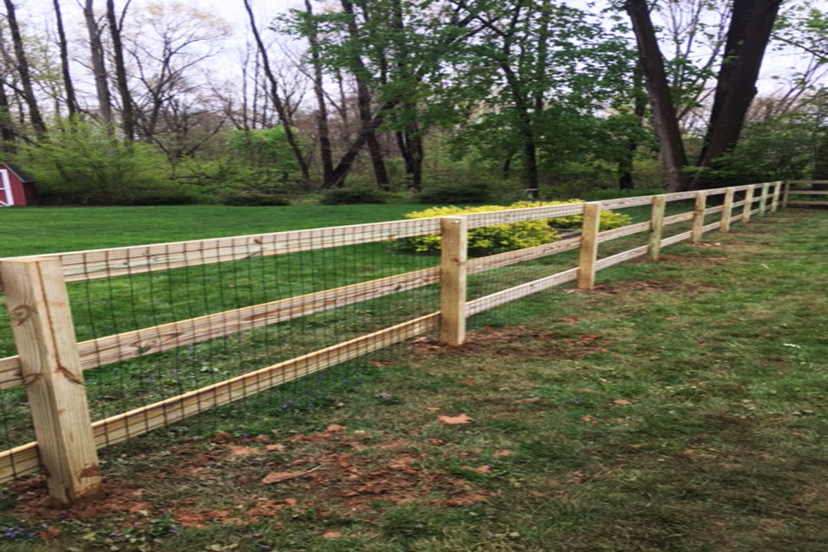 Wire Fencing Welded Wire Fencing All Custom Fence Designs Nj Fl Nc