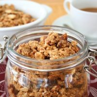 Peanut Butter Flax Power Granola