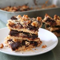 Magic Cookie Bars - Low Carb and Gluten-Free