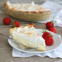 Coconut Cream Pie - Low Carb and Gluten-Free