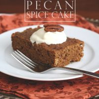 Slow Cooker Pumpkin Spice Cake
