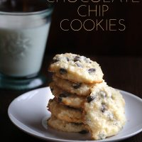 Macadamia Butter Chocolate Chip Cookies