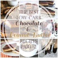 Best Low Carb Chocolate & Peanut Butter Recipes, Part 2