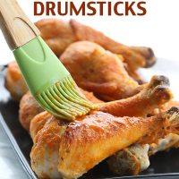 Crispy Baked Buffalo Drumsticks