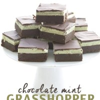 Grasshopper Brownies