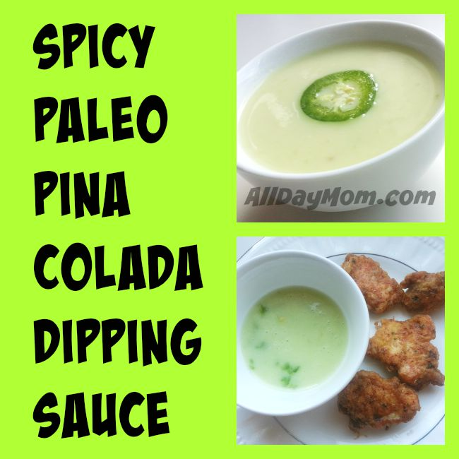 Get this Paleo recipe - Spicy Pina Colada Sauce is dairy free, sugar free, and Paleo and Whole30 approved!