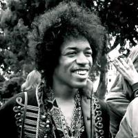 Jimi Hendrix plays Bob Dylan and Beatles