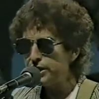 Bob Dylan: Letterman rehearsal, NYC  22 March 1984 (videos)