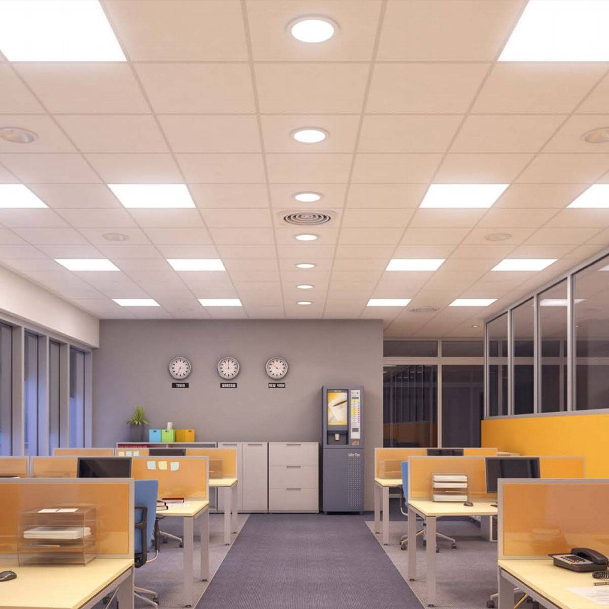 Systeemplafond Led Verlichting Proline I Led Paneel 32w 60x60cm Project Verlichting