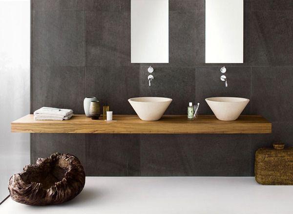 Badezimmer Holzwand Bilder Imagination On Badezimmer Holz Im   Badezimmer  Holz