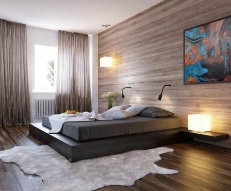Schlafzimmer Gestalten Mit Tapeten  20 Ideen F252;r Stilvolle Junggeselle Schlafzimmer