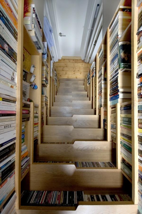 ▷ Coole Wohnideen - 10 ausgefallene und praktische Bücherregale - wohnideen zum selber bauen