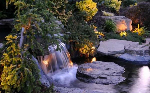 Wallpaper Of Water Fall Beleuchtung F 252 R Den Garten Clevere Tipps Zur