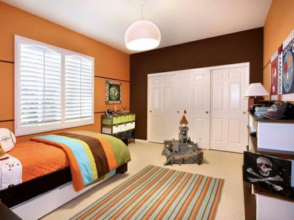 ▷ 1001+ Ideen Farben im Schlafzimmer - 32 gelungene - schlafzimmer wandgestaltung braun