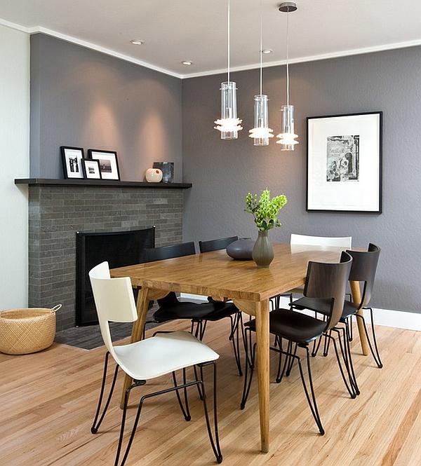 beautiful esszimmer design schwarz weis kontraste images - ideas ...