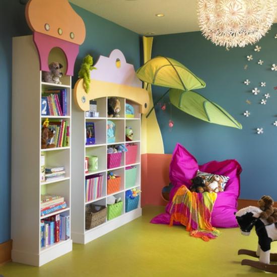 ▷ Schaffen Sie Ordnung im Kinderzimmer - 12 nutzliche Beispiele - kinderzimmer blau mdchen