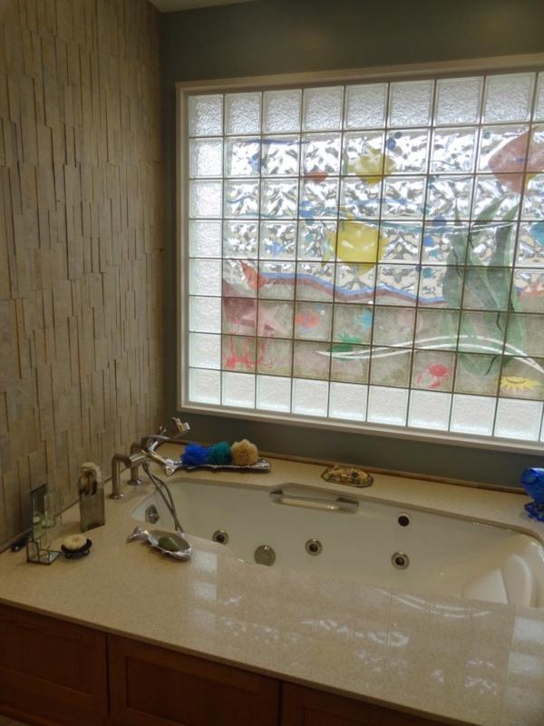 ▷ Sichtschutz Badfenster - haben Sie das vorgesehen? - badezimmer fensterfolie