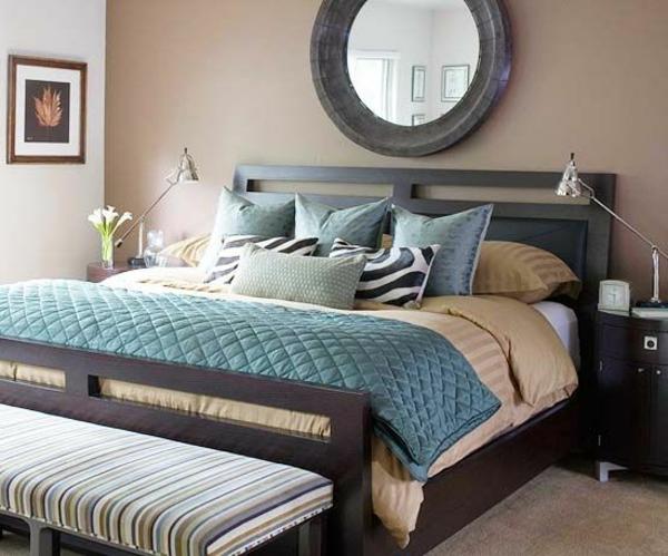 Schlafzimmer Einrichten Brauntöne mxpweb - schlafzimmer gestalten wandfarbe