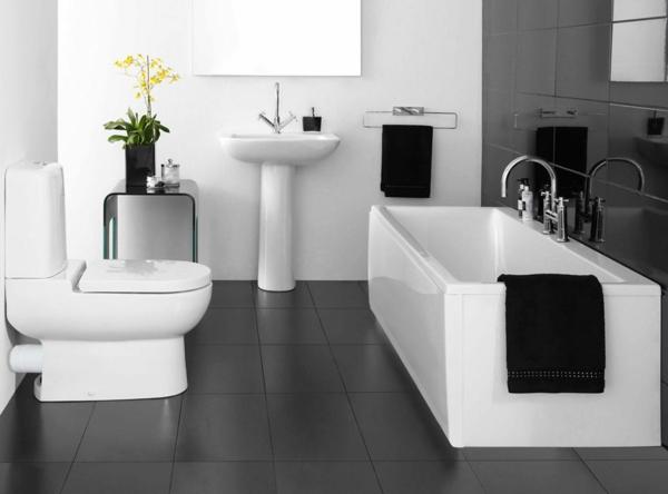 ▷ Badezimmer planen - gestalten Sie Ihr Traumbad - weies badezimmer modern gestalten