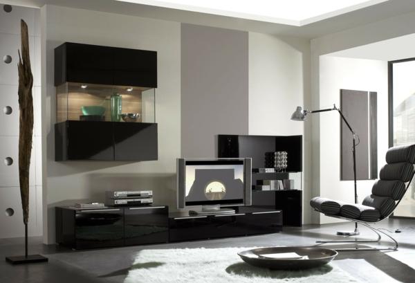 Wohnzimmer In Weiss Grau u2013 fairyhouseinfo - wohnzimmer schwarz weis grau