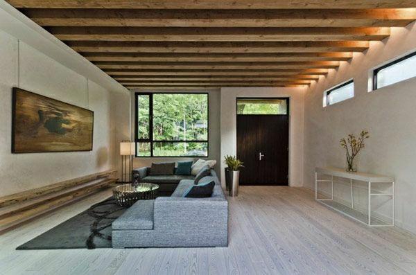 Außergewöhnliche Wandgestaltung Wohnzimmer