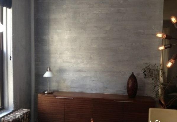 wandfarbe mit betonoptik fur einen industriellen look