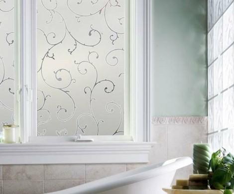 ▷ Durch Fensterfolie die Fenster verschönern und verdunkeln - badezimmer fensterfolie