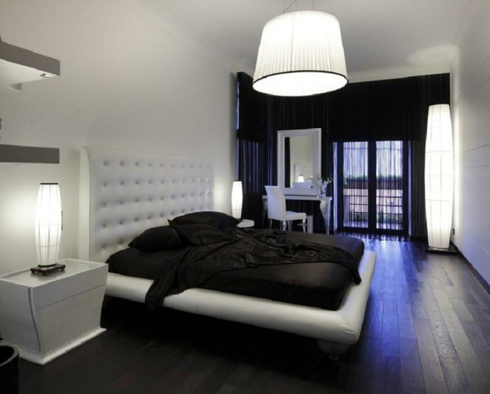 Schlafzimmer Komplett Schwarz Weiss