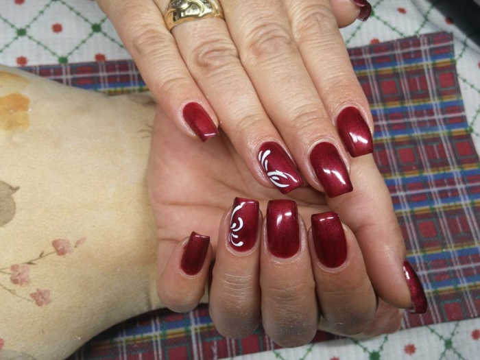 Nageldesign Herbst Nageldesign In Rot - 51 Inspirationsbilder Und