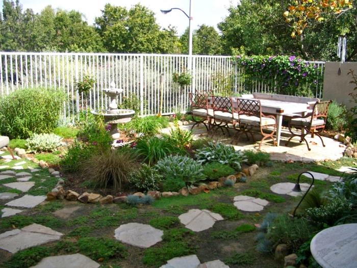 ▷ Gartengestaltung Beispiele - 29 bezaubernde Ideen als - gartengestaltung ideen beispiele