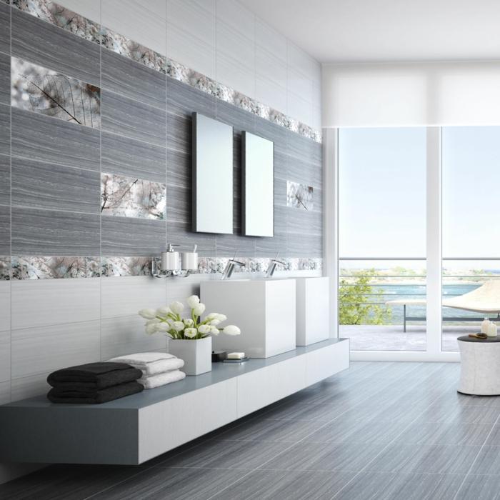 ▷ Graue Fliesen fürs Badezimmer - 61 Bilder, die Sie beeindrucken - badezimmer in grau
