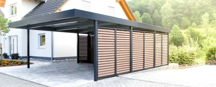 Carport Metall Mit Abstellraum Carport Designs: Die Neuesten Trends