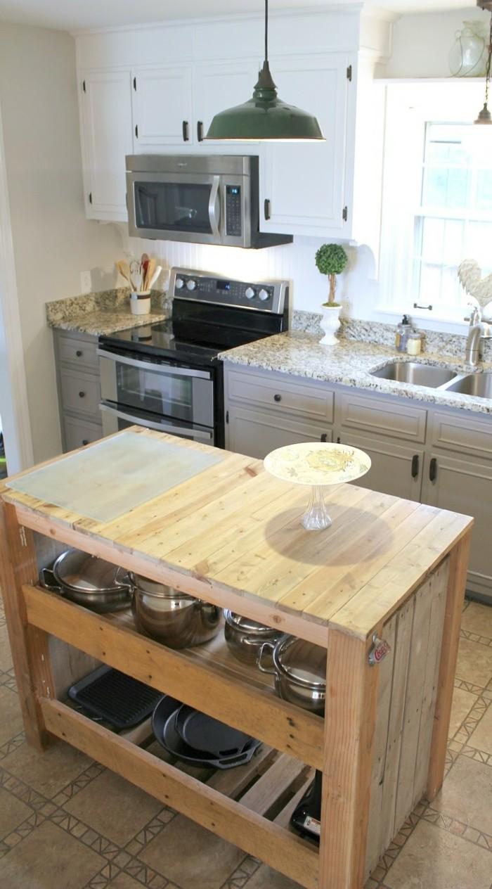 Kücheninsel Selber Bauen Aus Paletten 31 Modell Anregungen