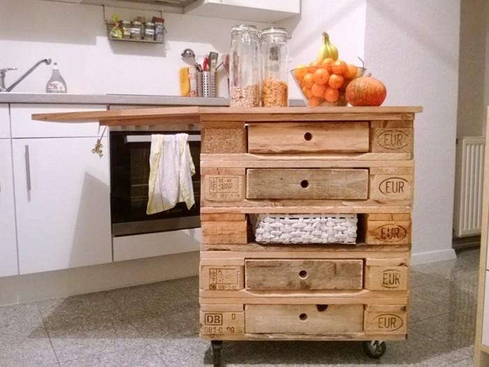 Palette Kücheninsel | Garderobe Aldi - Moderndaygilligan.com