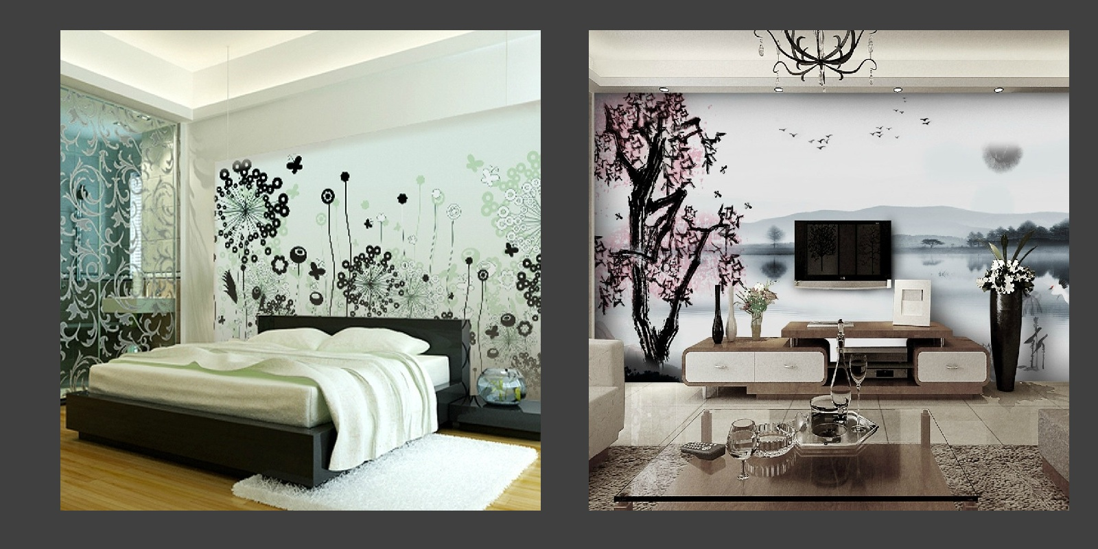 3d Wallpapers For Home Interiors Passende Strategien F 252 R Dekoideen Mit Mustern Wohnideen