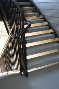 Straight Metal Stairs Birmingham AL - Allen Iron Works ...