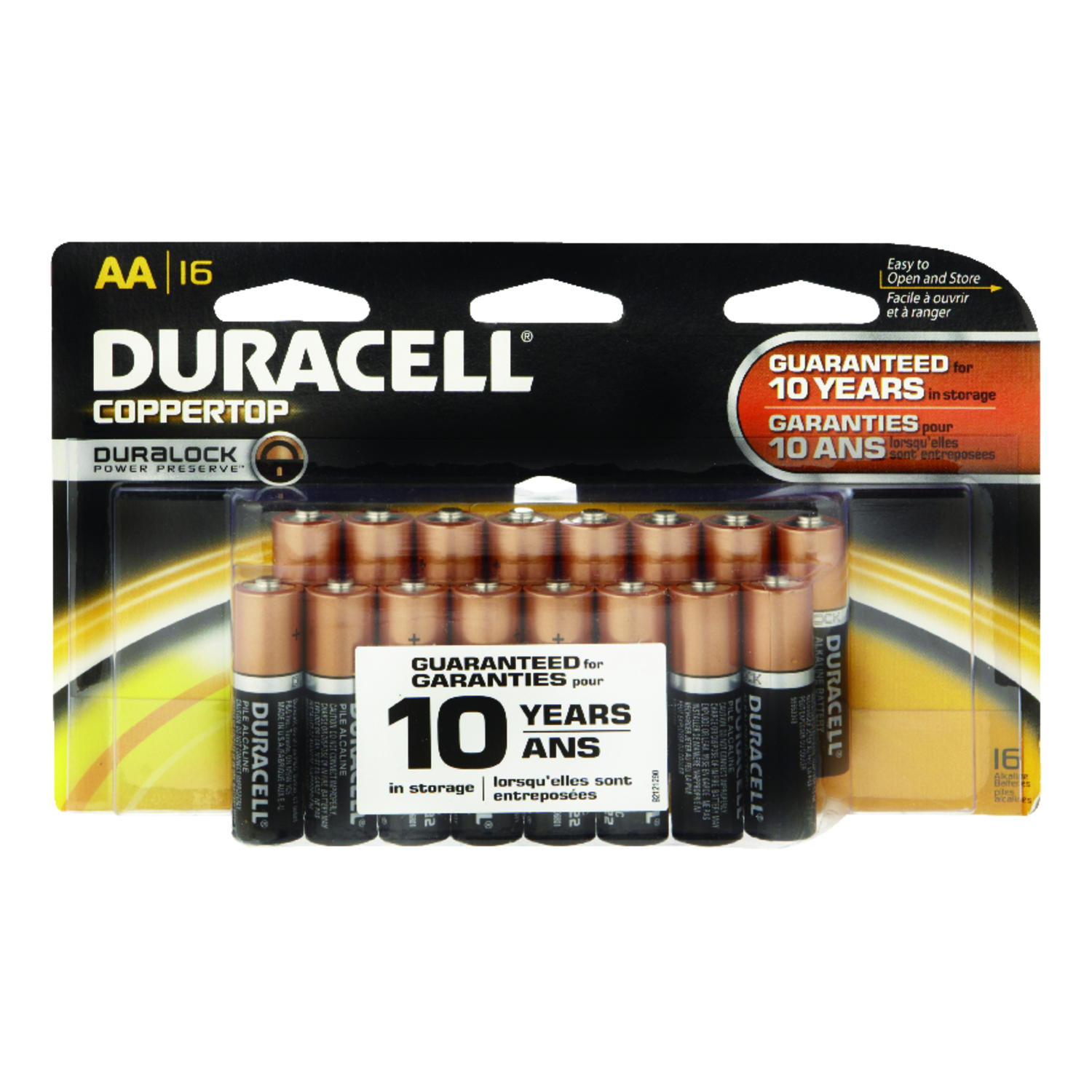 1 5 Volt Batterie Duracell Coppertop Aa Alkaline Batteries 1 5 Volts Carded